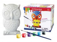 Paint Your Own Owl Money Bank