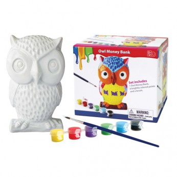 Paint Your Own Owl Money Bank reviews