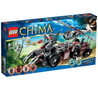 LEGO Chima Worriz Combat Lair 70009 reviews