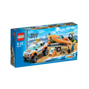 LEGO City 4×4 and Diving Boat 60012 reviews
