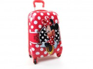 Minnie Mouse Luggage Trolley Case