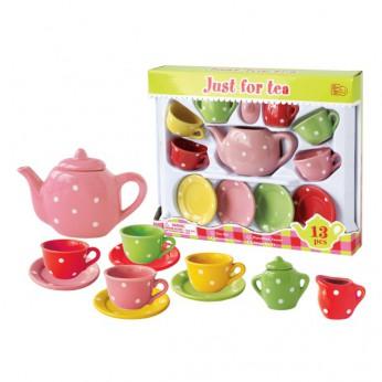 Multi Color Dot Tea Set reviews