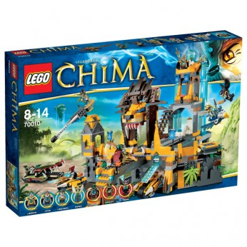 LEGO Chima The Lion CHI Temple 70010 reviews