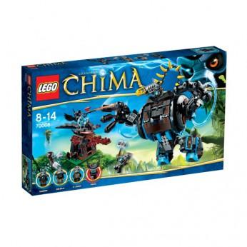LEGO Chima Gorzan's Gorilla Striker 70008 reviews