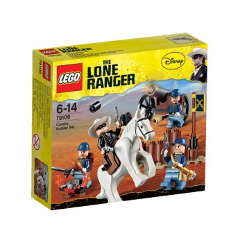 LEGO The Lone Ranger Cavalry Builder Set 79106 reviews