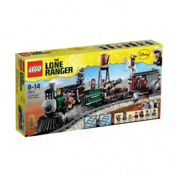 LEGO Lone Ranger Constitution Train Chase 79111 reviews