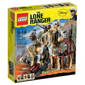 LEGO The Lone Ranger Silver Mine Shootout 79110 reviews