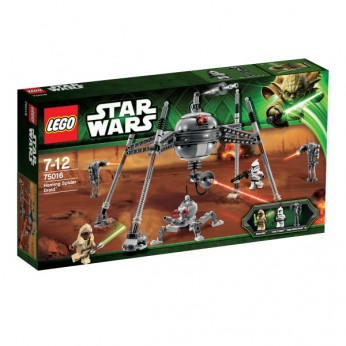 LEGO Star Wars Homing Spider Droid 75016 reviews