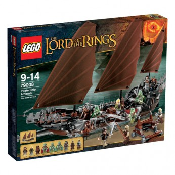 LEGO Lord of the Rings Pirate Ship Ambush 79008 reviews