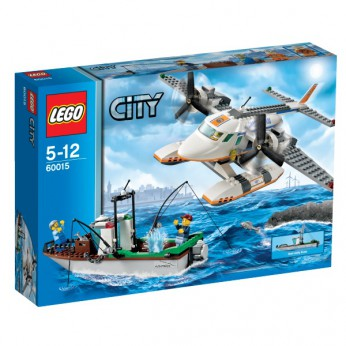 LEGO City Coast Guard Plane 60015 reviews