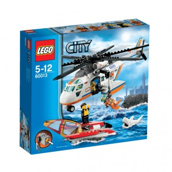 LEGO City Coast Guard Helicopter 60013 reviews