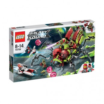 LEGO Galaxy Squad Hive Crawler 70708 reviews
