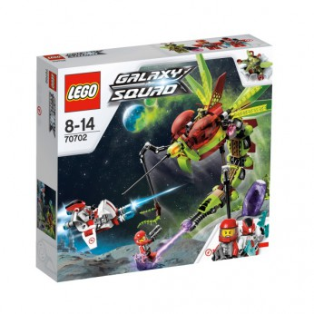 LEGO Galaxy Squad Warp Stinger 70702 reviews