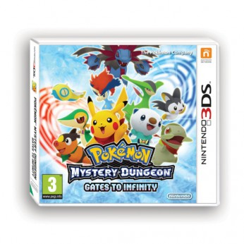 Pokemon Mystery Dungeon Gates to Infinity 3DS reviews