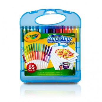 Crayola Supertips Marker and Paper Set reviews