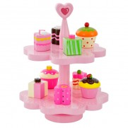 Wooden Magnetic Cake Stand – Heart