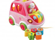 Sort and Learn Car (Pink)
