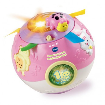 VTech Crawl and Learn Bright Lights Ball (PINK) reviews