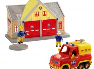 Fireman Sam  Station and Venus Playset