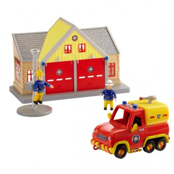 Fireman Sam  Station and Venus Playset reviews