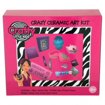 Crafty Little Kidz Crazy Ceramics reviews