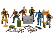 Total Soldier Special Force Unit 6 Figures