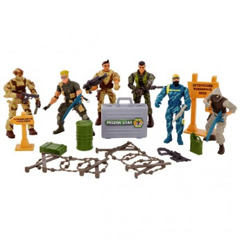 Total Soldier Special Force Unit 6 Figures reviews