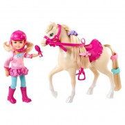 Barbie Chelsea and Pony