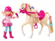 Barbie Chelsea and Pony