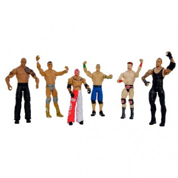 WWE Basic 6 Figure Gift Pack reviews