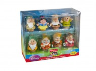 Little People Snow White 7 Dwarfs Figures