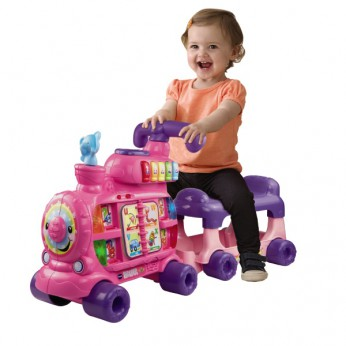 VTech Push and Ride Alphabet Train Pink reviews
