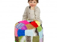 Multi Coloured Bean Bag