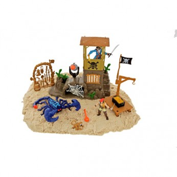 Pirate Scorpion Island Playset