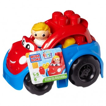 Mega Bloks First Builders Ricky Race Car