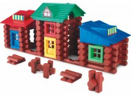 150 pcs Wooden Building Fun Set