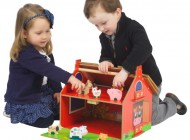My First Wooden Barn Play Set