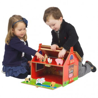 My First Wooden Barn Play Set reviews