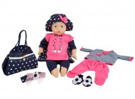 Deluxe Doll and Fashion Set
