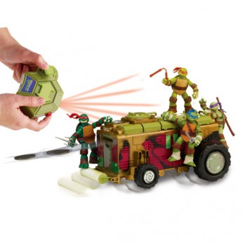 Turtles Remote Control Shell Raiser Vehicle reviews