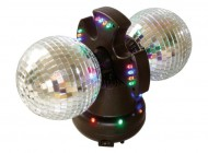 Twin Mirror Disco Ball