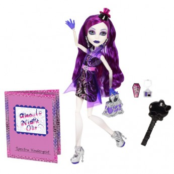 Monster High Ghouls Night Out Doll Spectra reviews