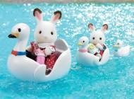 Sylvanian Families Swan Boat Set