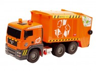 Orange Refuse Truck 55cm