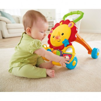 FISHER PRICE MUSICAL LION WALKER reviews