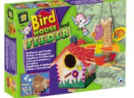 Bird House and Feeder