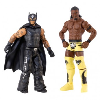 WWE Series 23 2Pack Rey Mysterio and Kofi Kingston reviews