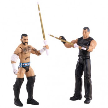 WWE Series 23 2-Pack CM Punk and Vince McMahon reviews