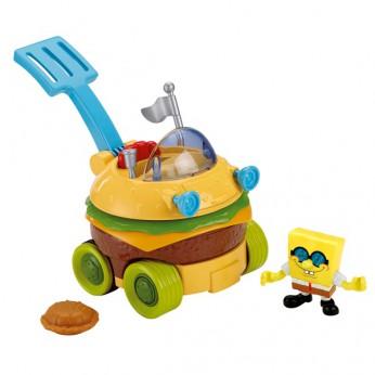 Imaginext Spongebob Patty Wagon reviews