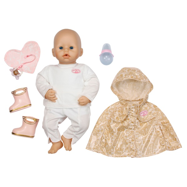 Baby Annabell Doll With Deluxe Rain Set Reviews Toylike